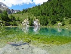 Lac Bleu d'Arolla Eastern Europe, Switzerland, Golf Courses, Mountains, Nature, Landscape, Places, Loin, Travel