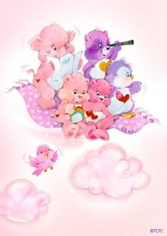 This would be a super cute tattoo - Care Bears + Care Bear Cousins: Lotsa Heart Elephant, Bright Heart Raccoon, Cozy Heart Penguin, Love-a-Lot + Cheer Bear Old Cartoons, Disney Cartoons, Care Bear Tattoos, Tattoo Care, Care Bears Vintage, Care Bear Party, Garfield And Odie, Bear Wallpaper, Vintage Cartoon