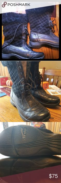 Dansko winter boots SPRING SALE!!Great condition dansko winter boots. Lace up soft upper goes well with Dansko water resistant non slip soles. Only worn inside a few times. Smoke free pet free home. Dansko Shoes Winter & Rain Boots