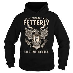 nice  Team FETTERLY Lifetime Member - Last Name  Surname T-Shirt -  Discount Today