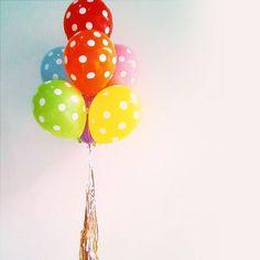 """Polka - Fun & More (@2funandmore) en Instagram: """"#Ideas2fun #balloon #polkadots"""""""