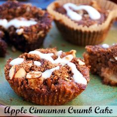 Apple Cinnamon Crumb Cake (with nut-free option) + Real Life Paleo Review and Giveaway