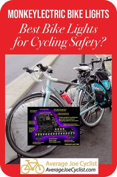 MonkeyLectric Bike Lights – Best Bike Lights for Cycling Safety? Mountain Bike Accessories, Mountain Bike Shoes, Cool Bike Accessories, Mountain Biking, Cycling Tips, Cycling Workout, Women's Cycling, Cycling Quotes, Cycling Jerseys