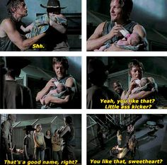 Daryl names the baby [ The Walking Dead ]
