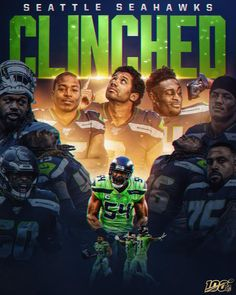Book the for the postseason! Packers 49ers, Seahawks Football, Football Art, Seattle Seahawks, Tyler Lockett, Bobby Wagner, Nfc West, Nfl Playoffs