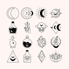 Cute Tiny Tattoos, Mini Tattoos, Small Tattoos, Easy Doodles Drawings, Cute Drawings, Drawing Sketches, Tattoo Flash Art, Doodle Art, Tattoo Drawings