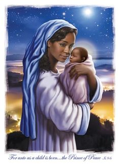 Prince of Peace African American Christmas Cards
