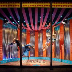 """HARVEY NICHOLS,London,UK, """"A Day at the Circus"""", pinned by Ton van der Veer"""