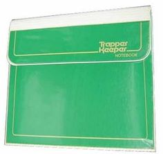 Trapper Keeper!! Even as a child, the organizational aspect of this item was incredibly appealing to me.  How I adored mine, with Lisa Frank folders inside.