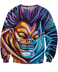 Ryuk Sweatshirt -- Get an extra 10% OFF with Discount Code BJXRAGE10 -- even on most sale items!