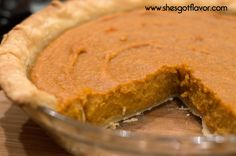 She's Got Flavor » Easy But Oh So Good Sweet Potato Pie