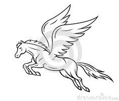 Pegasus Horse Royalty Free Stock Image - Image: 29593136