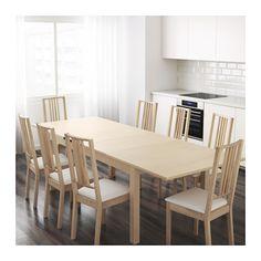 BJURSTA Extendable table, Seats 4-8, $250.00