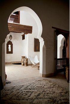 Dar Rafti a restored Riad Fez, Morocco
