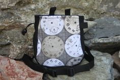 Climbing Chalk, Rock Climbing, Time Clock, Bouldering, Diaper Bag, Trending Outfits, Unique Jewelry, Handmade Gifts, Bags