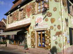 Musée du Pain d'Epices et de l'art populaire - Gertwiller #Alsace ~ ღ Skuwandi
