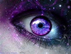 Eyes Artwork, Space Artwork, Violet Eyes, Pink Eyes, Beautiful Fantasy Art, Beautiful Artwork, Pretty Eyes, Cool Eyes, Cool Eye Drawings