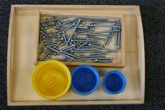 Sorting Bolts by Size