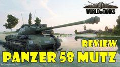 World of Tanks - Panzer 58 Mutz Review & Gameplay