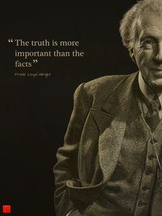 Frank Lloyd Wright is a god to pretty much every designer I know.