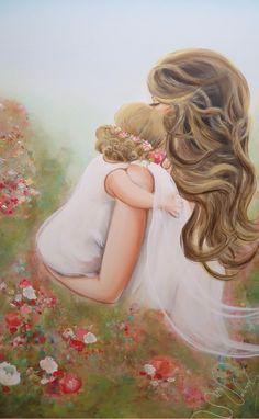 sylvievallerand Mother Art, Mothers Love, Disney Characters, Fictional Characters, Aurora Sleeping Beauty, Disney Princess, Gentleness, Fantasy Characters, Disney Princesses