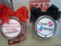 PreK Graduation Candy Jars