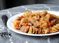 Skillet Balsamic Chicken & Rotini