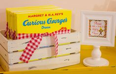 We're bananas over the details of this party by Angie of Whimsy Farm Twine. Since Angie's daughter Lorelailoves Curious George books, Angie incorporated everyone's favorite monkey for the theme at her daughter's birthday party. The brown, yellow, red, and white is not a typical girly palette, but it is perfect for this theme. Have you …
