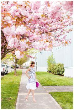 eShakti Dress on Blush & Camo!