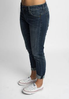 To my SF stylist- i have these in a different wash and love them. I'd live to have these - size 12- KUT from the Kloth - Kathleen Slim Boyfriend Jean in color More in Dark Stone