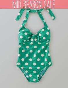 Boden Retro Swimsuit