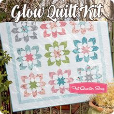 Glow Quilt Kit<br/>Featuring Nest by Lella Boutique