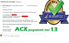 "This is my 13th payment prrof ""Here is my Withdrawal Proof from AdClickXpress ""I am getting paid daily at ACX and here is proof of my latest withdrawal. This is not a scam and I love making money online with Ad Click Xpress. Online income is possible with ACX, who is definitely paying - no scam here."" Join Now : http://www.adclickxpress.is/?r=cbfs9p9ege43w&p=mx CONTACT DETAILS MOB. +919663517862 SKYPE -khaleel.basha99  Facebook ID –https://www.facebook.com/khalil.basha.967:"""