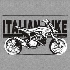 'Ducati Hypermotard' T-Shirt by West Coast Choppers, Road Glide, Triumph Motorcycles, Ducati Hypermotard, Mopar, Motocross, Lamborghini, Motorcycle Art, Tshirt Colors