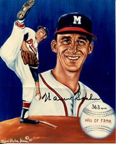 Warren Spahn has the most wins by a lefty in the history of baseball with 363 wins.