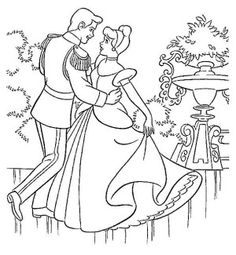 Cinderella is the most beautiful of all the kingdom and the prince thinks so too. Cinderella coloring pages can be decorated online with the interactive . Cinderella Coloring Pages, Disney Princess Coloring Pages, Disney Princess Colors, Disney Colors, Free Printable Coloring Pages, Coloring Book Pages, Coloring Pages For Kids, Coloring Sheets, Cinderella Pictures