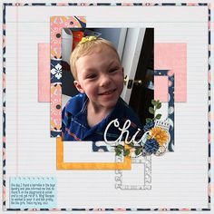 Pretty Boy ~ Template by Queen Wild Scraps & kit is Boho Chic by Scraps N Pieces.