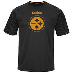 Pittsburgh Steelers Majestic Skill in Motion Mens Cool Base T-Shirt T-shirt  Pittsburgh Steelers 3eea571cd