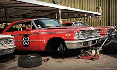 Galaxie Garage... 1963 Ford Galaxie 500s - 2013 Goodwood Revival