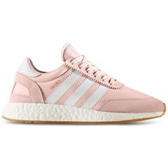 adidas Women's Iniki Runner Casual Sneakers from Finish Line ($120) ❤ liked on Polyvore featuring shoes, sneakers, adidas footwear, vintage style shoes, vintage looking shoes, adidas trainers and adidas sneakers