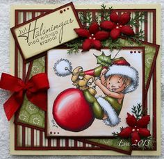 Crafters Companion Christmas Cards, Handmade Christmas, Christmas Ornaments, Hobby House, Mo Manning, Blogg, Christmas Characters, Create And Craft, Penny Black