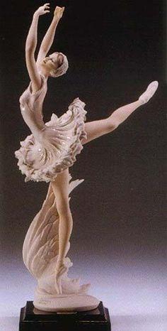 "GIUSEPPE ARMANI FLORENCE FIGURINE-""Armani Swan Lake""-1447C  Brand: Armani"