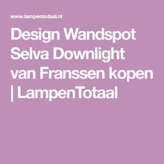 Design Wandspot Selva Downlight van Franssen kopen   LampenTotaal