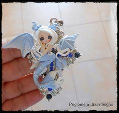 Lady Dragon by PrigionieradiunSogno.deviantart.com on @DeviantArt