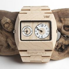 Creative product designs #12 - Jupiter Beige Watch by WeWood