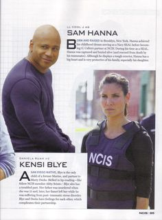 "NCIS Los Angeles in CBS Watch Magazine Special Edition ""NCIS"""