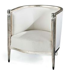 Fine French Art Deco Giltwood Bergere, circa 1920 image 2