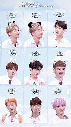 such a cute bunny! Chanyeol, Exo Bts, Kpop Exo, Kyungsoo, Exo Stickers, Exo For Life, Exo Album, Exo Group, Exo Lockscreen