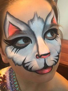 Cats Costume Face Paintings 26 Ideas painting ideas for women beautiful Girl Face Painting, Belly Painting, Face Painting Designs, Painting For Kids, Kitty Face Paint, Face Paint Makeup, Cat Face, Animal Face Paintings, Animal Faces