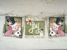 Snowman banner for my annual Craft Fair. Scrap for Joy: Some Craft Show Peeks